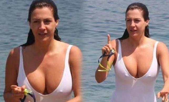Tuğba Ekinci 'Bunlar kışın lazım' deyip bikinili pozunu paylaştı!