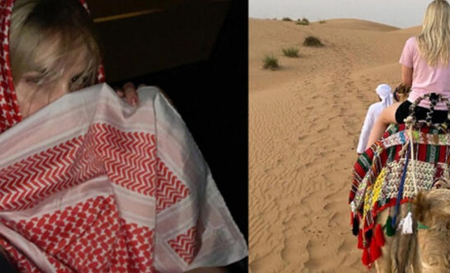 Aleyna Tilki Dubai seferine çıktı