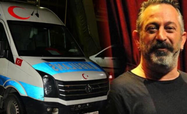 Cem Yılmaz'dan ambulans tedbiri