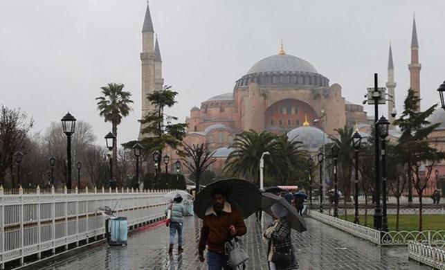 İstanbul'da yağmur yağışı ne kadar sürecek? İşte 5 gün İstanbul hava durumu