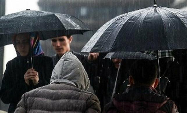 Meteoroloji İstanbul ve 11 il için kuvvetli yağış uyarısında bulundu