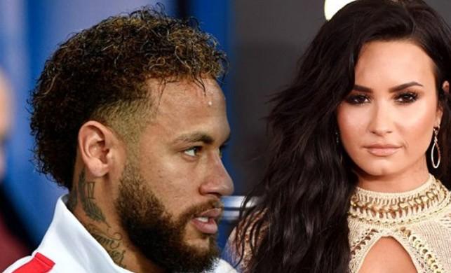Neymar bu kez büyük oynuyor! Aşk hedefinde dünyaca ünlü şarkıcı Demi Lovato var...
