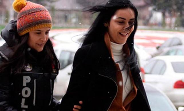 Adliyeye gülerek girip tutuklanan uyuşturucu kuryesi Seda'nın ifadesi ortaya çıktı