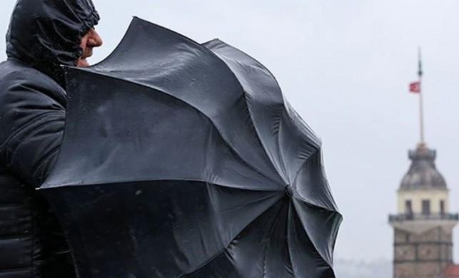 Meteoroloji İstanbul, Kocaeli ve Sakarya'da yağmur beklendiğini açıkladı