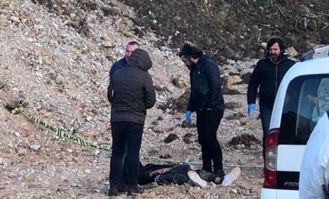 Bursa'da ağzı bantlı halde bir erkek cesedi bulundu