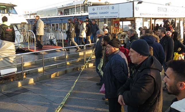 Denizden ceset çıktı; Meraklı vatandaşlar polise zor anlar yaşattı