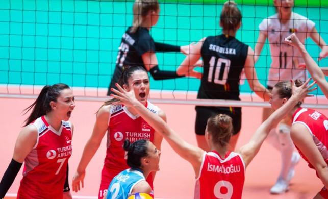 Filenin Sultanları (A Milli Voleybol Takımı), Olimpiyat elemelerinde yarı finale yükseldi