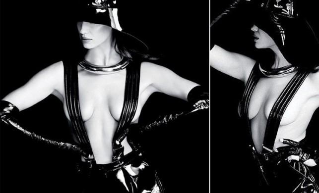 Irina Shayk'tan seksi pozlar