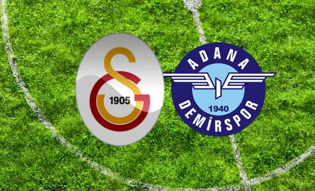 Galatasaray 1-0 Adana Demirspor maç sonucu