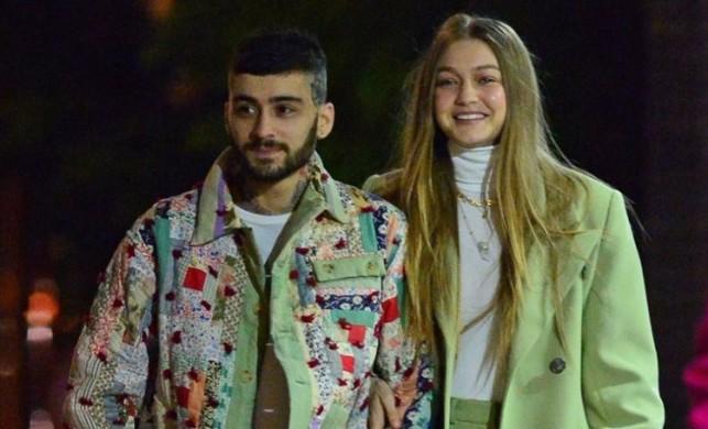Gigi Hadid ve Zayn Malik çifti barıştı