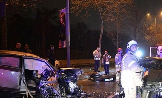İstanbul'da alkollü sürücü dehşet saçtı