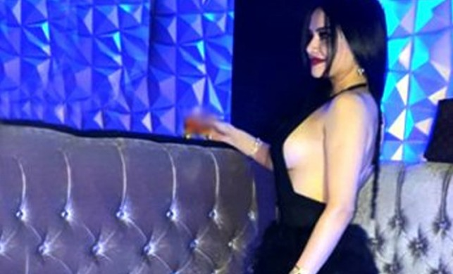Naz Mila, göğüslerini sallayarak dans etti