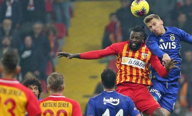 Kayserispor Fenerbahçe maçı ne zaman? Kayserispor FB kupa maçı saat kaçta, hangi kanalda?