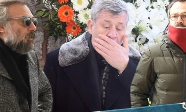 Metin Şentürk'ün hayatını kaybeden babası Şükrü Şentürk son yolcuğuna uğurlandı
