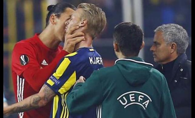 Saha içinde gerginlik yaşayan Kjaer ve Ibrahimovic Milan'da birlikte oynayacaklar
