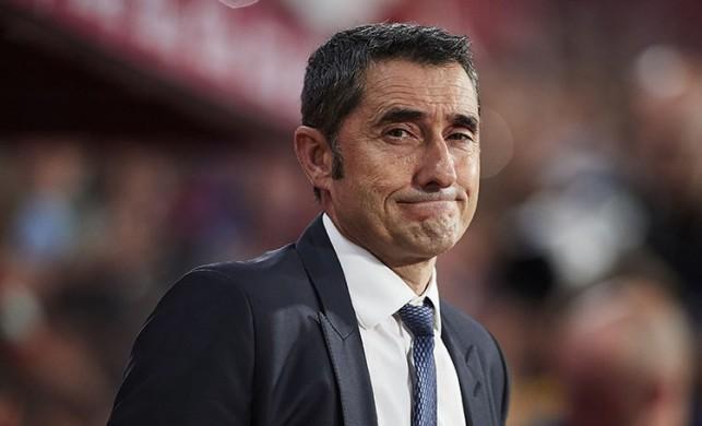 Barcelona'da Ernesto Valverde görevden alındı! İşte yeni teknik direktör...