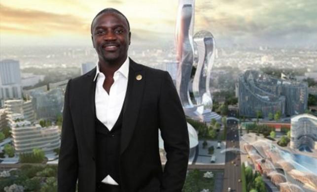 Dünyaca ünlü şarkıcı Akon kendi şehrini kurdu! Para birimi 'Akoin' oldu...