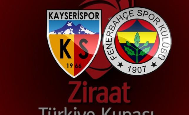 Kayserispor Fenerbahçe maçı canlı izle - Kayseri FB maçı canlı yayın