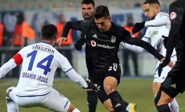 Beşiktaş Erzurum'da 90+1'de dondu
