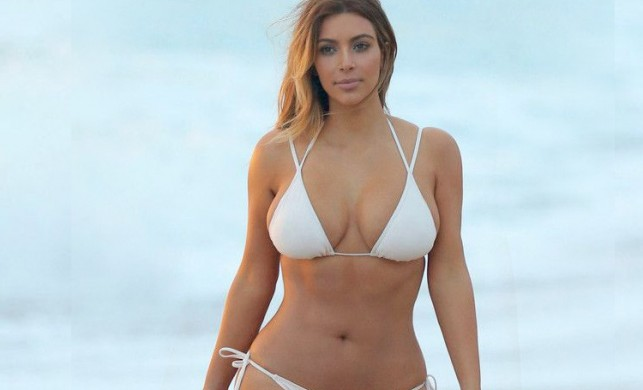Kim Kardashian soyunma odasından paylaştı