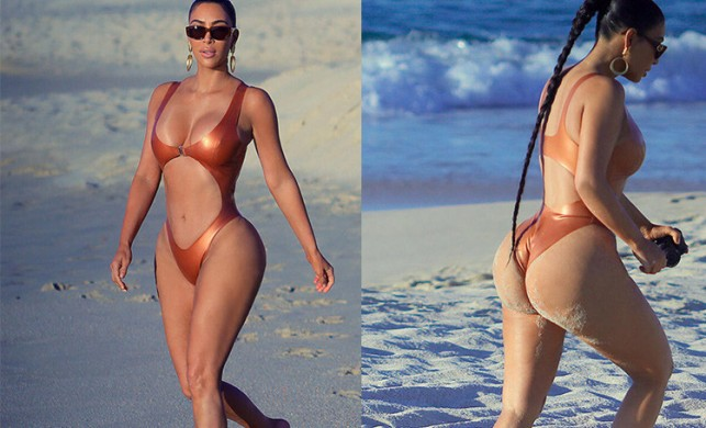 Kim Kardashian, Meksika tatilinde