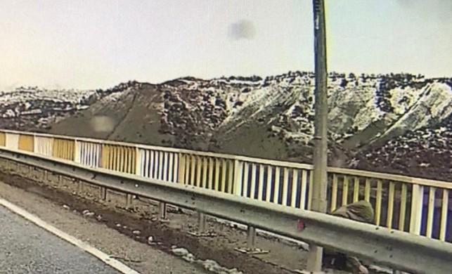 Kayıp Gülistan'ın olay günü köprüde görüntüsü ortaya çıktı