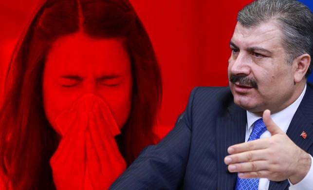 Sağlık Bakanı Fahrettin Koca'dan grip vakalarıyla ve Çin'de yayılan virüsle ilgili flaş açıklama