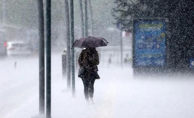 Meteoroloji'den İstanbul için son dakika sağanak yağış uyarısı!