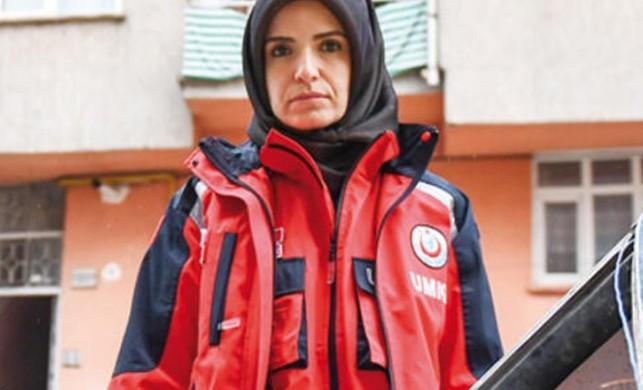 UMKE gönüllüsü Emine Kuştepe: Ben Türkiye'nin vücut bulmuş haliydim, siz de yapabilirsiniz!