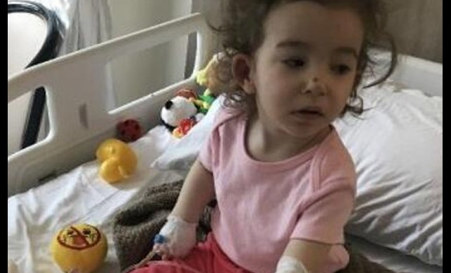 Uçak kazasının en küçük mağduruydu! 17 Aylık Evranur'un sağlık durumu iyiye gidiyor