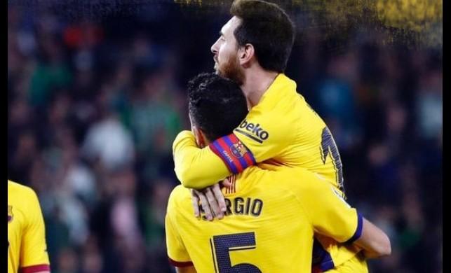 Barcelona geriye düşmesine rağmen kazandı! Messi 3 asistle yıldızlaştı