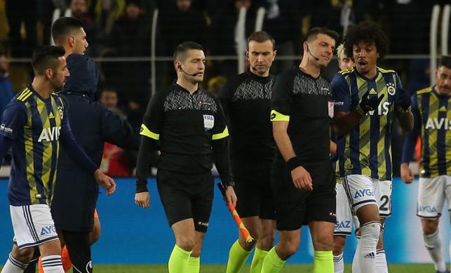 Fenerbahçe - Alanyaspor maçıyla ilgili flaş gelişme! Hakem Serkan Tokat ile Ümit Öztürk...