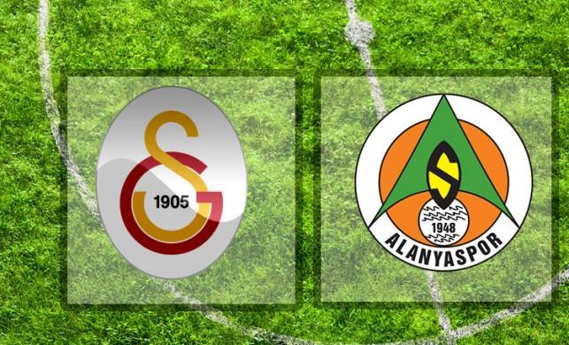 CANLI İZLE! Galatasaray - Alanyaspor maçı izle | Aspor Galatasaray - Alanyaspor maçı canlı yayını