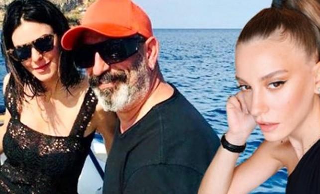 Defne Samyeli'nin ihanet çıkışına Cem Yılmaz'dan olay gönderme iddiası!