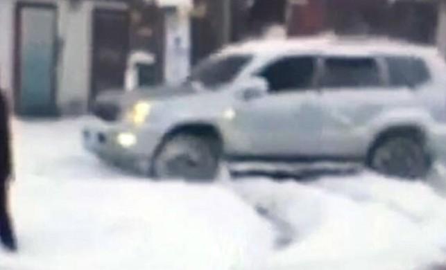 Düzce'de karda drift yaptığı görüntüleri yanlışlıkla polise gönderdi! 6 bin lira ceza yedi...