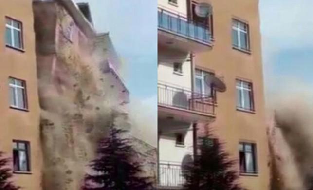 Elazığ'da korkutan deprem... Deprem sonrası facianın eşiğinden dönüldü!