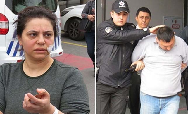 Üsküdar'da dehşet; Boşanma aşamasında olduğu kadını bıçakladı