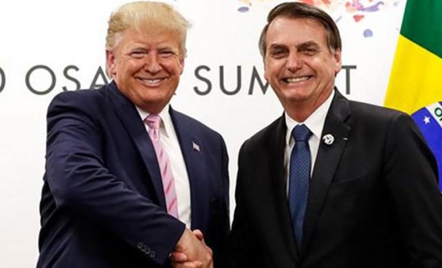 Trump'la tokalaşan Brezilya Devlet Başkanı'na koronavirüs teşhisi kondu