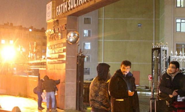 İstanbul'da bazı öğrenci yurtları boşaltıldı