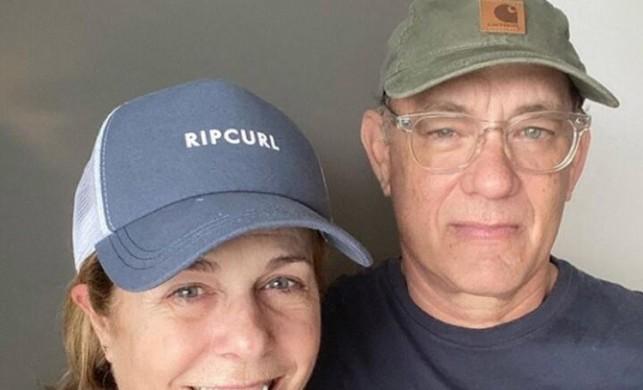 Koronavirüse yakalanan Tom Hanks ve eşi Rita Wilson'dan güzel haber!