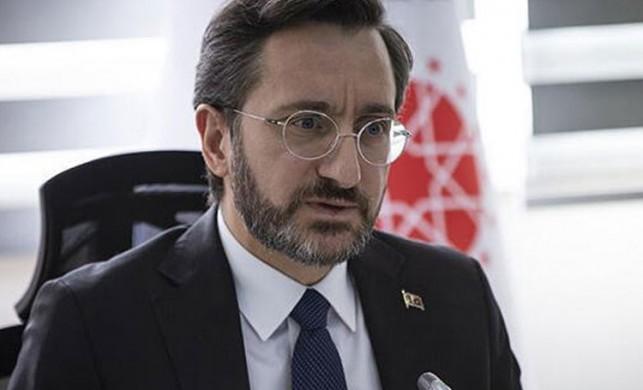 İletişim Başkanı Fahrettin Altun'dan flaş koronavirüs açıklaması
