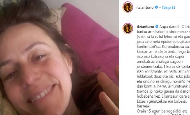 Netflix'in sevilen dizisi La Casa de Papel'in müfettişi Itziar Ituno'dan koronavirüs açıklaması geldi