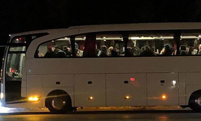 Otobüs şoförü, koronavirüs şüphesiyle hastaneye kaldırıldı