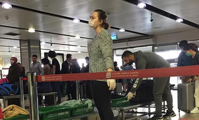 Sabiha Gökçen Havalimanı'nda koronavirüs önlemi!