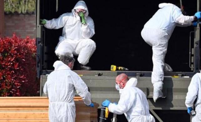 İtalya'da yeni tip koronavirüsten ölenlerin sayısı 5476'ya yükseldi