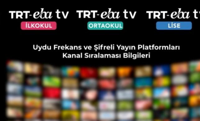 EBA TV uydu frekans bilgileri nedir? TRT EBA TV kurulumu nasıl yapılır? EBA canlı yayın nasıl izlenir?