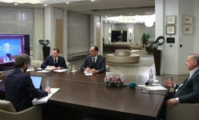 Cumhurbaşkanı Erdoğan'dan koronavirüs toplantısı