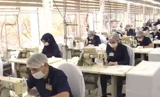 Bakan Akar'ın talimatı sonrası, bakanlığa bağlı fabrikalarda maske üretimi arttı