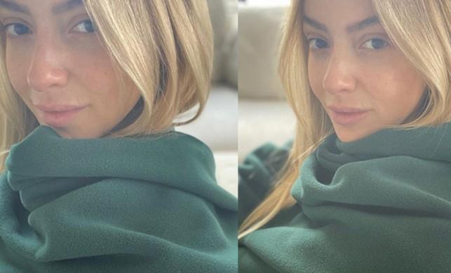 Ünlü şarkıcı Hadise'den #EvdeKal paylaşımı! Rekor beğeni geldi...