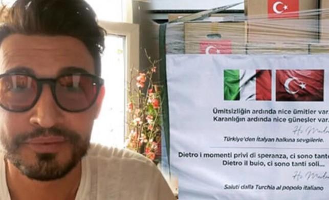 İtalyan şef Danilo Zanna, Türkiye'ye teşekkür etti